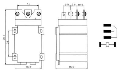 jqx一16f30a继电器接线图